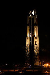 Naperville Carillon at Night